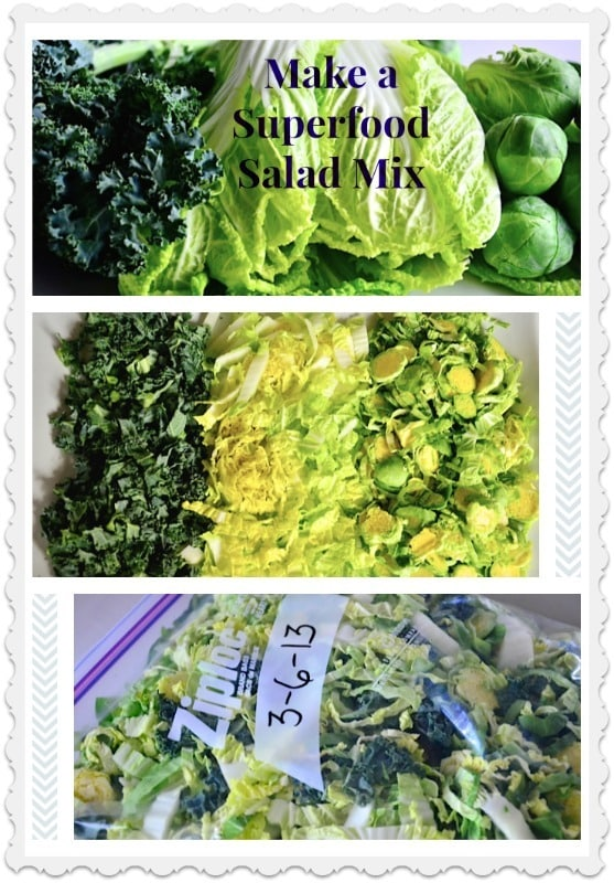 How to Make a Superfood Salad Mix