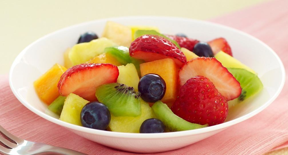 Easter Buffet With McCormick Spices Vanilla Fruit Salad