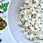 Junior Mints, Popcorn, Pistachio Nuts