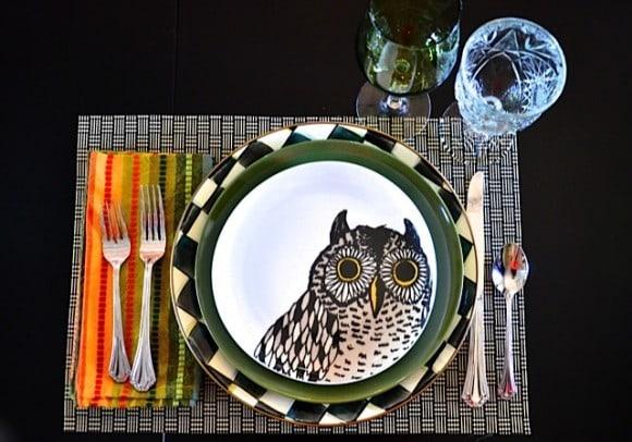 West Elm owl plates | reluctantentertainer.com