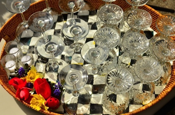 MacKenzie-Childs Party Tray   Reluctant Entertainer