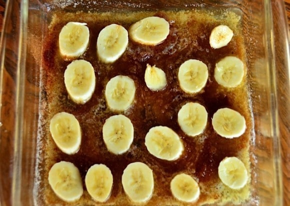 Recipe Girl's Upside Down Banana Cake