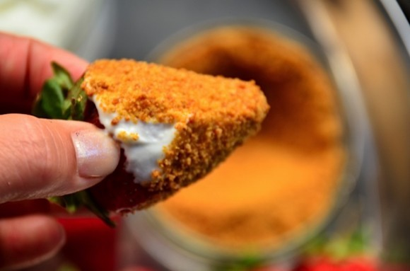 Strawberries, Greek Yogurt, Coconut Sugar   Reluctant Entertainer