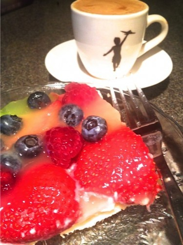Fruit Pizza Dessert & Storyville Coffee