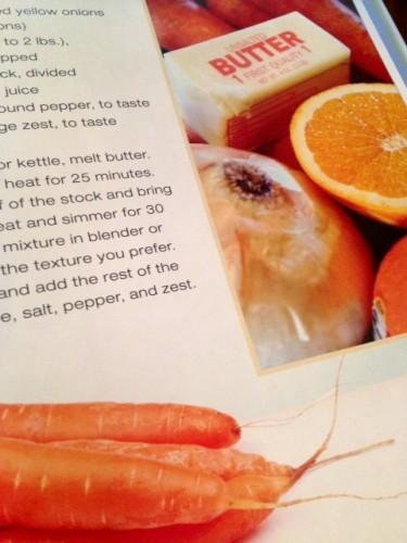 Carrot Orange Soup | reluctantentertainer.com