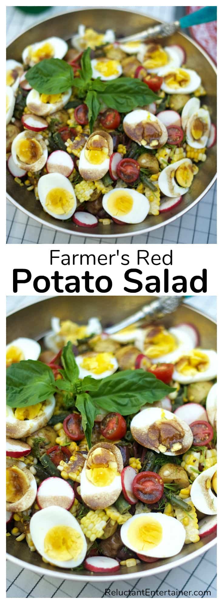 Farmer's Red Potato Salad Recipe