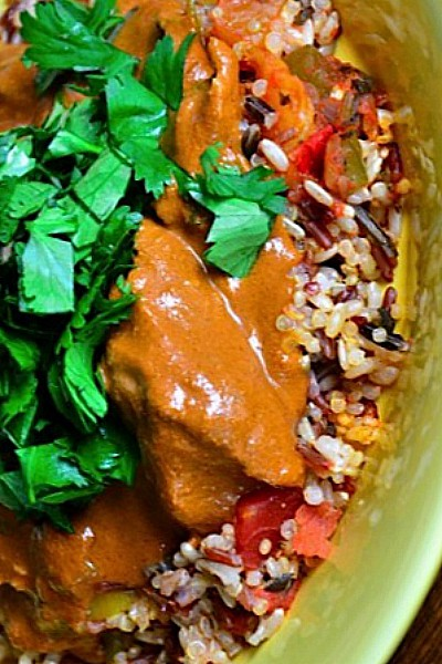 Slow Cooker Chicken Mole Recipe for a Fiesta Dinner Party