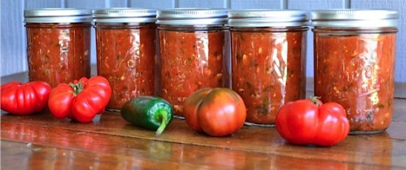 Zucchini Salsa - Reluctant Entertainer