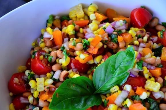 Blackeye Corn Salad