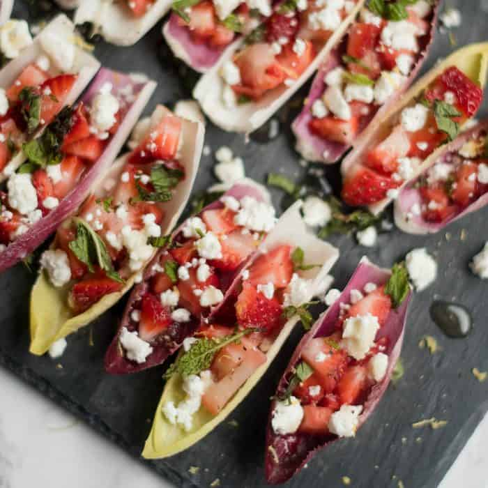 Best Endive with Strawberry Mint Honey Recipe