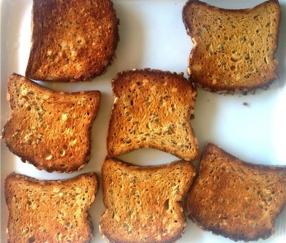 Gluten free bread for crostini