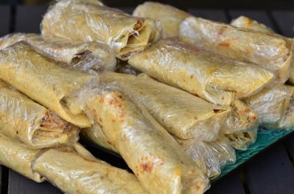 Chicken Quinoa Burritos
