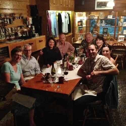 Steamboat Inn Dinner
