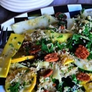 Summer Squash with Quinoa Salad