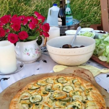 Summer Zucchini Galette