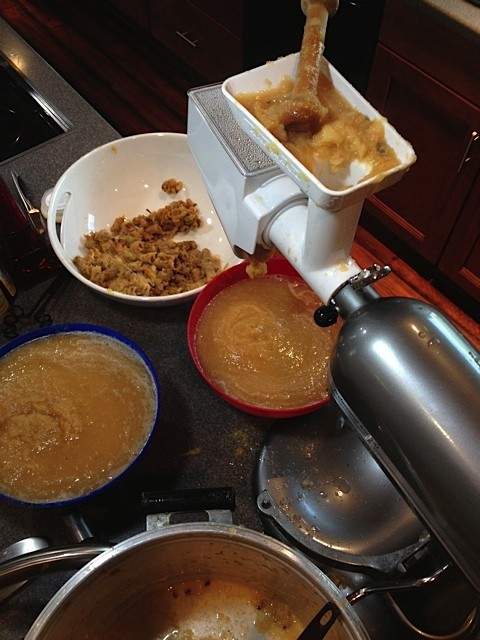 How To Make Applesauce With Kitchenaid 174 Attachments
