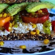 Garden Fresh Tuna Sandwich from ReluctantEntertainer.com