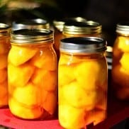 Canned Peaches | Reluctant Entertainer