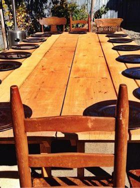 Rosewood Vintage table