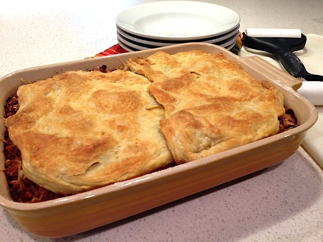 Chili Pot Pie