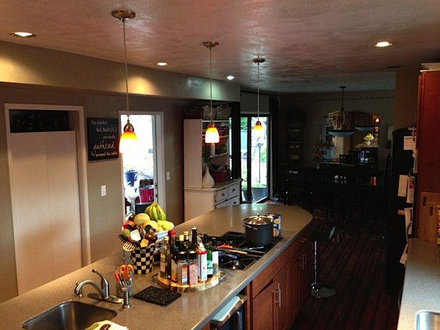 Lowe's Home Improvement Brightening Kitchen Project