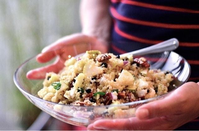 Pear Quinoa Salad | ReluctantEntertainer.com