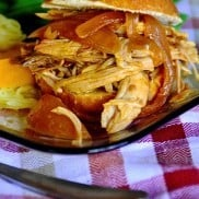 Slow Cooker Carolina Pork Sliders