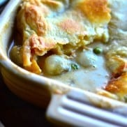 Turkey Potpie with Butternut & Pearl Onions