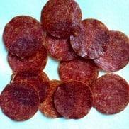 Baked Salami Chips
