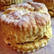 Vegan Pumpkin Biscuits | ReluctantEntertainer.com