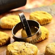 Vegan Pumpkin Biscuits