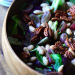 3-Ingredient Green Salad Beans Grapes
