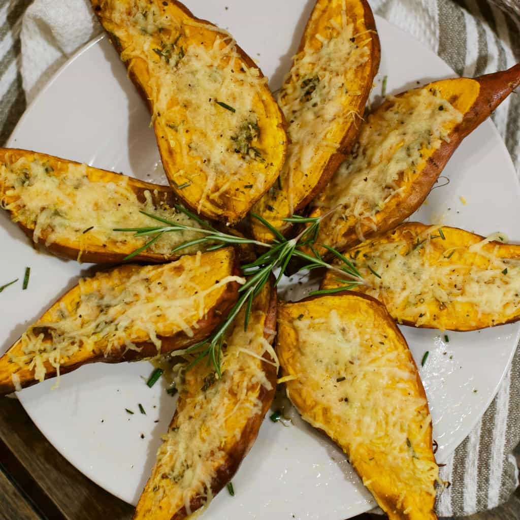Easy Side Dish: Roasted Sweet Potatoes With Rosemary Recipe