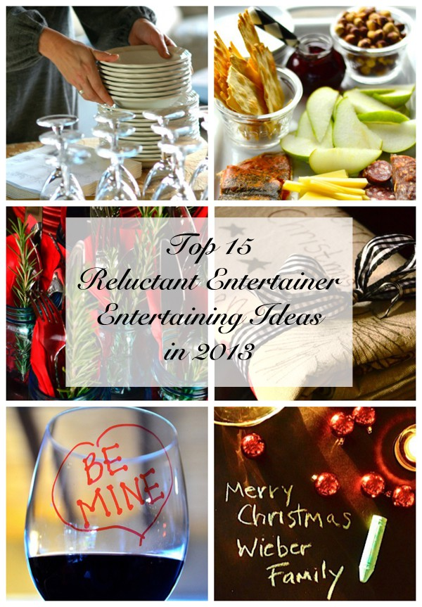 Top 15 Entertaining Ideas