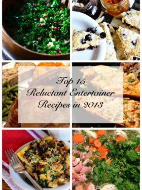Top 15 Entertaining Recipes