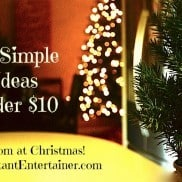 10 Simple Ideas under $10