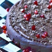 Flourless Date Chocolate Cake