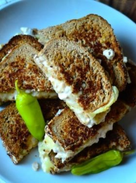 White Bean Swiss Cheese Melt from ReluctantEntertainer.com