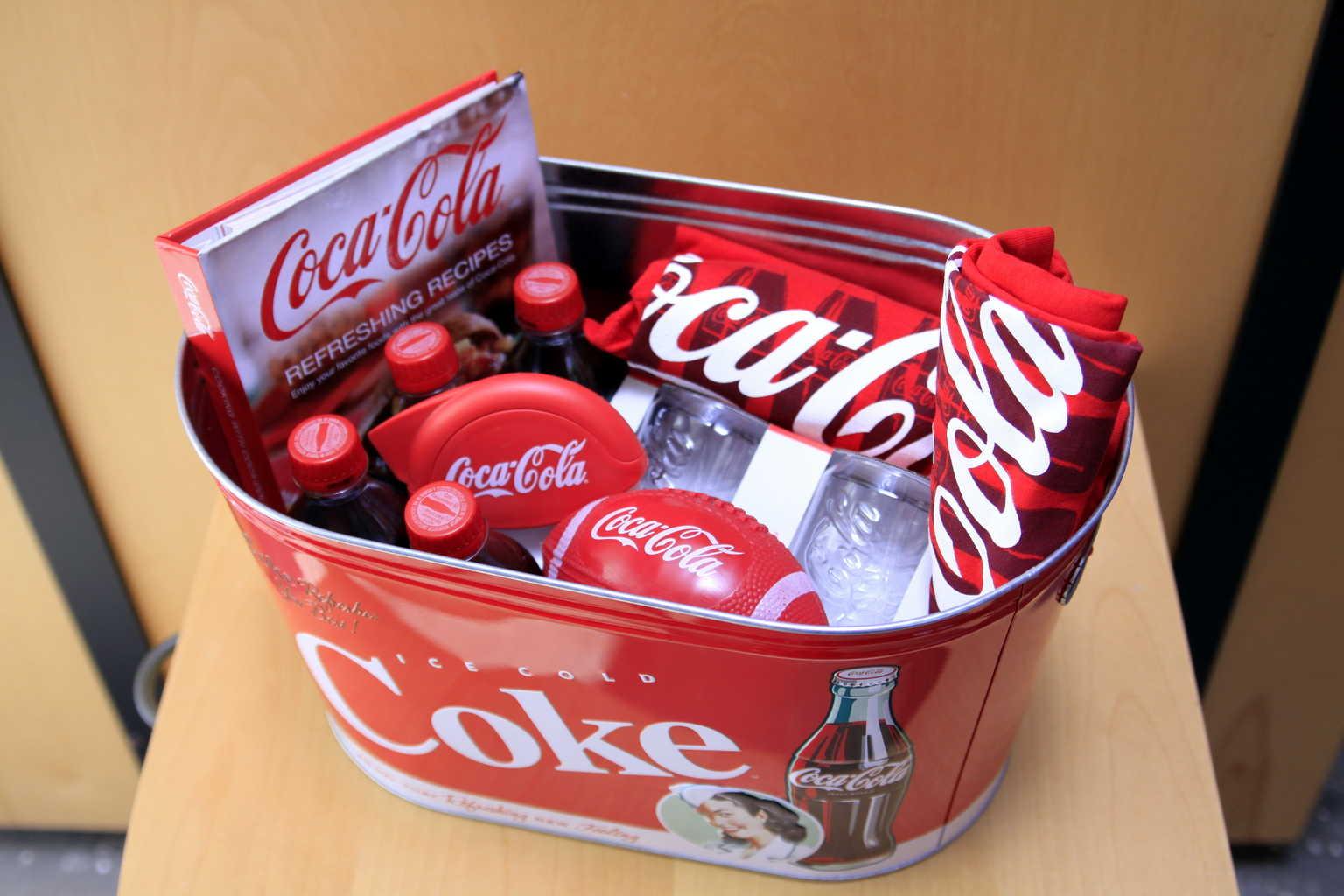 Coca Cola Super Bowl Giveaway $100 value