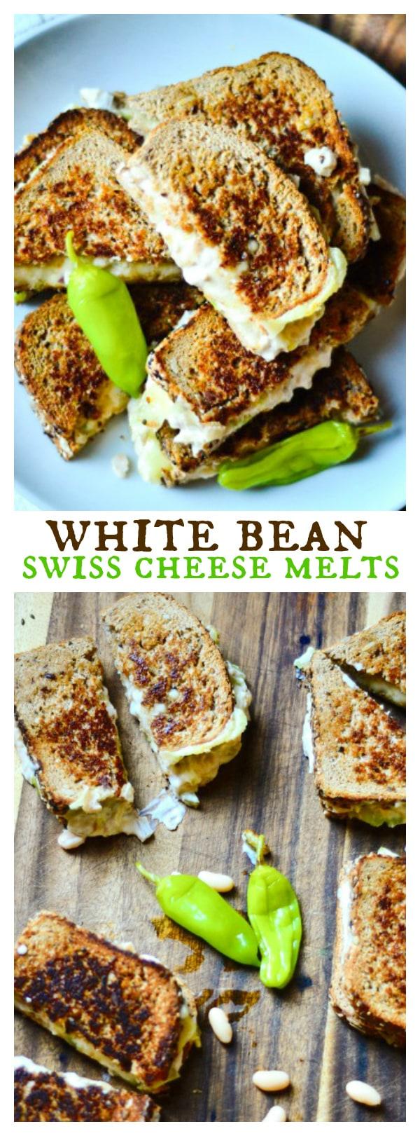 White Bean Swiss Cheese Melts