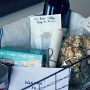 DIY Welcome Basket