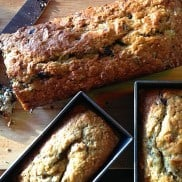 Chocolate Chunk Banana Bread with Pecans