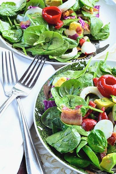 Spinach Cobb Salad
