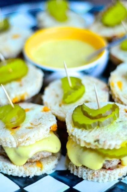 urkey Cheese Sliders