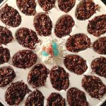 No Bake Chocolate Coconut Easter Eggs