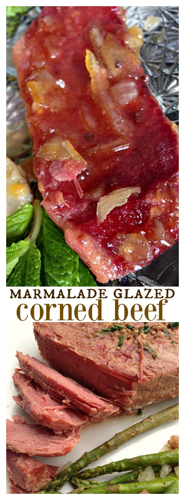 Marmalade Glazed Corned Beef