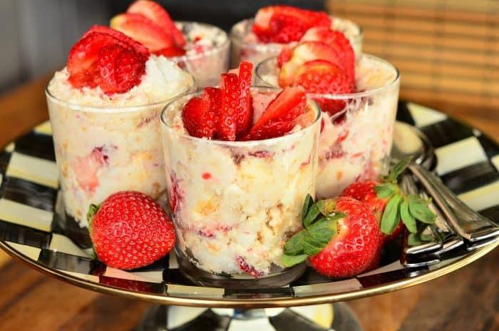 Best Strawberry Lemon Cheesecake Parfaits