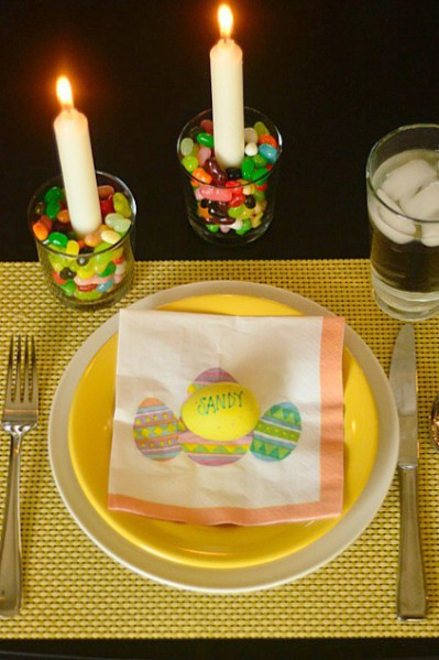 3 Easy Easter Table Decorations