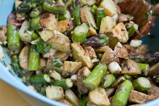Asparagus and Potato Salad from Oh She Glows