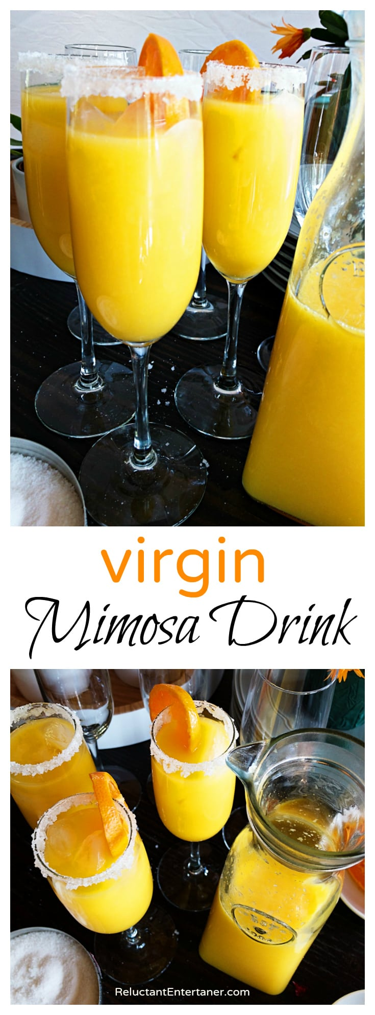 Virgin Mimosa Drink